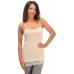 Jadea Top donna spalla stretta con pizzo in cotone e modal ART.4327